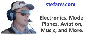 Electronics, model planes, aviation, music, and more.